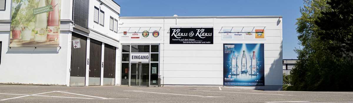 Getränkemarkt Klauss & Klauss Sindelfingen Maichingen