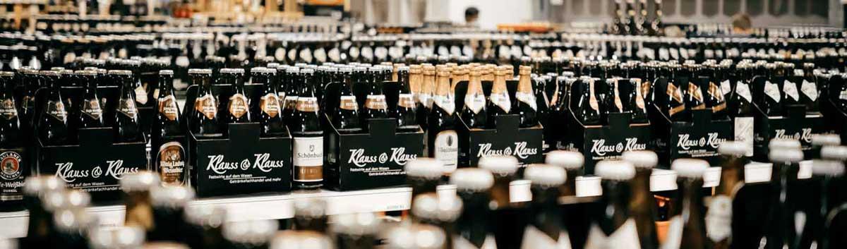 Bierauswahl Getränkemarkt Klauss & Klauss
