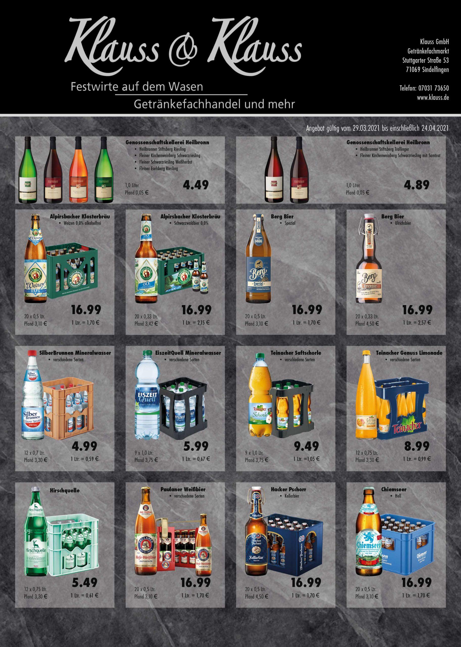 Getränkemarkt Angebote Böblingen